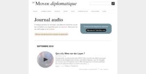 Le monde diplomatique : Articles lus