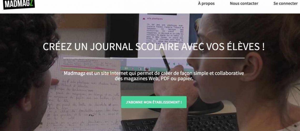 Madmagz : site de création de magazine gratuit